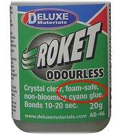 Foam safe CA glue