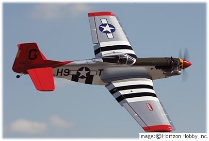 Hanger 9 PTS Mustang rc warbird