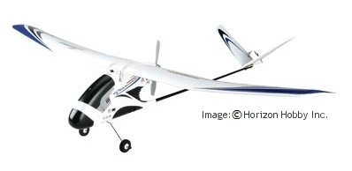 HobbyZone Firebird Commander 2 RTF airplane
