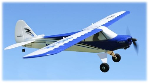 HobbyZone's Sport Cub S beginner rc airplane