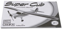 Get to know your rc airplane - read instructions well!