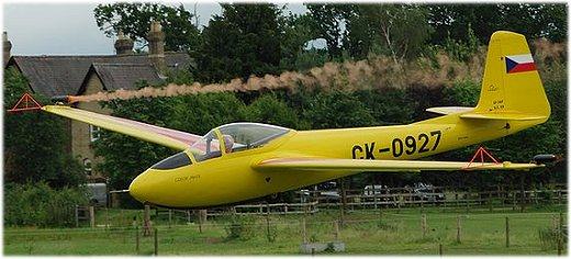 The Letov Lunak glider