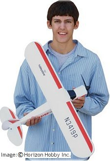 The HobbyZone Mini Super Cub mini rc airplane
