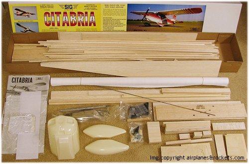 Model Airplane Kits : Construction Methods