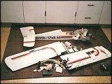 RC plane crashes
