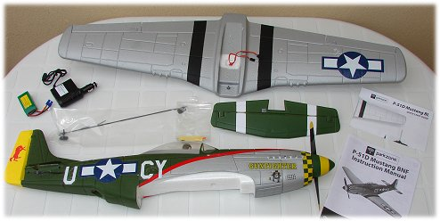The P-51D BL BNF unwrapped
