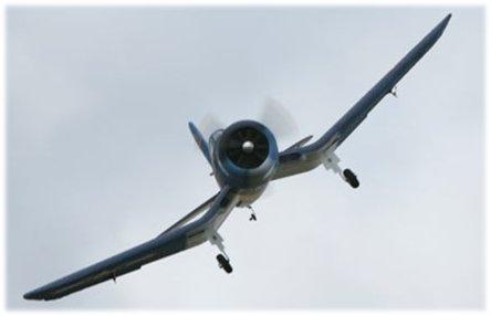 ParkZone F4U Corsair foam rc airplane