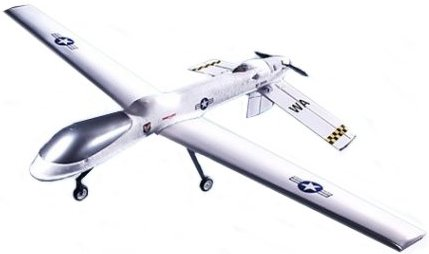 An RC Predator UAV for rc aerial photography