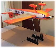 An rc airplane balancer