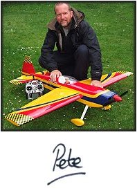 Me with an Edge 540 rc plane