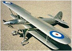 Large scale RC Fairey Fantome plan
