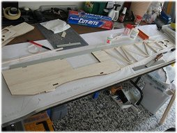 RC Gloster Gladiator fueslage build