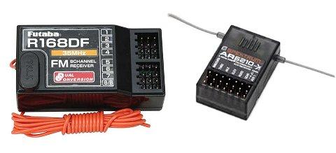 Radio control gear - receivers