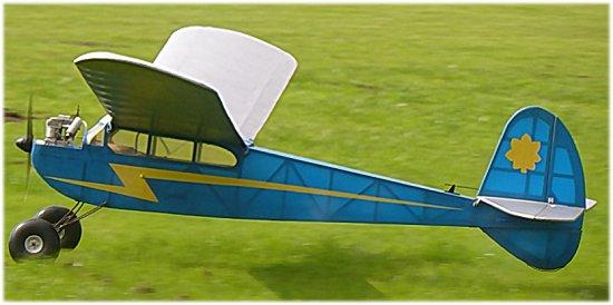 A true classic vintage RC plane
