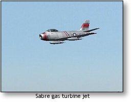 RealFlight G4 Sabre gas turbine