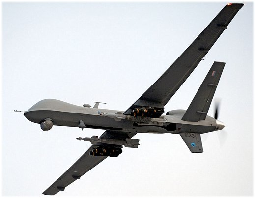 A Reaper military drone
