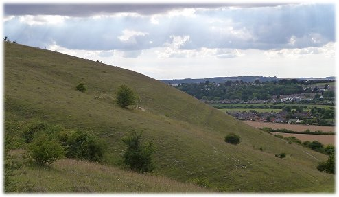 An great hillside for slope soaring