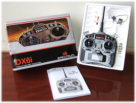 Spektrum DX6i basic package